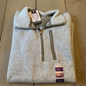 Eddie Bauer Sweater Fleece Quarter Zip Pullover